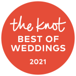 the knot best of weddings 2021 badge awarded to Houston Wedding Photographer Thomas Ross Photography